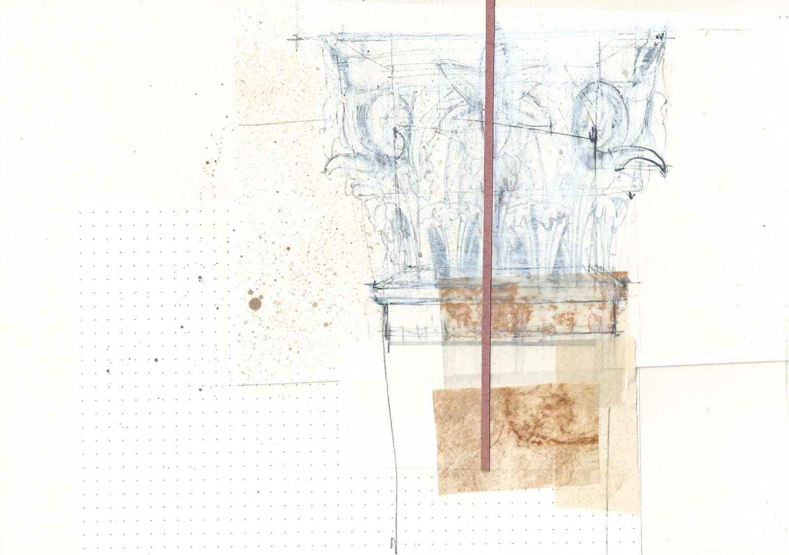 Marta Colombo drawing Pompei 2013