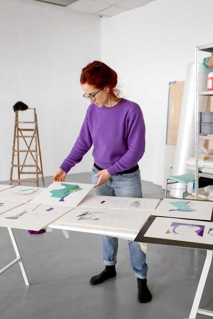 Marta Colombo Neuland Drawings