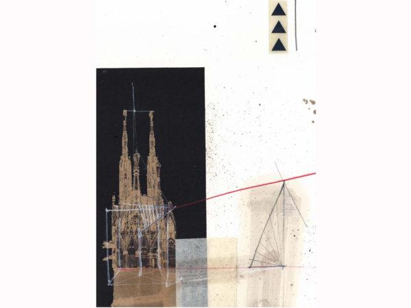 Guglie di Milano, 2013. Baustelle Schaustelle